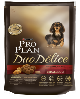картинка PRO PLAN Duo Delice Small Dog Beef от магазина