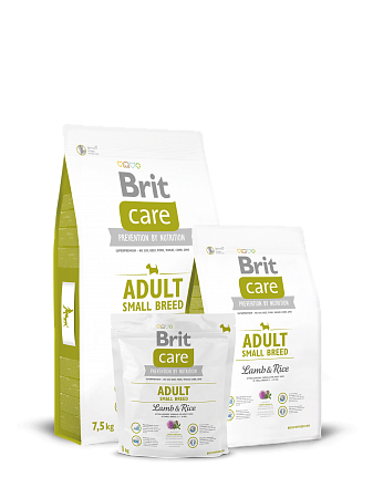картинка BRIT Care Adult Small Breed Lamb & Rice от магазина