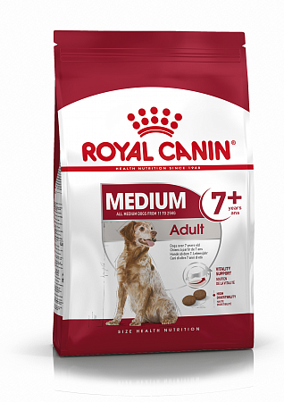 картинка ROYAL CANIN Medium Adult 7+ от магазина