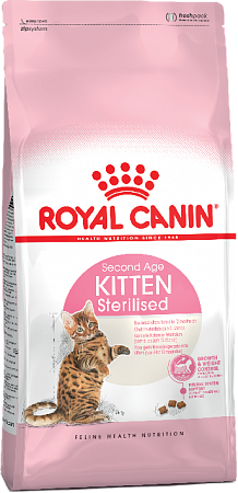 картинка ROYAL CANIN Kitten Sterilised от магазина