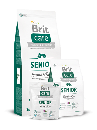 картинка BRIT Care Senior Lamb & Rice от магазина