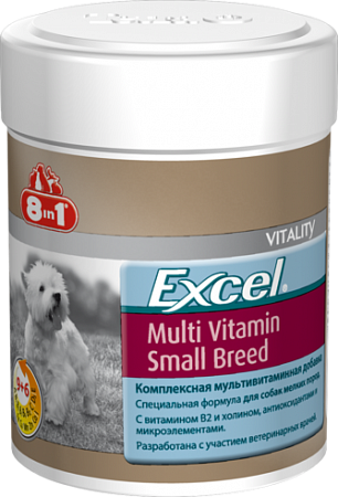 картинка 8in1 Excel Multi Vitamin Small Breed от магазина