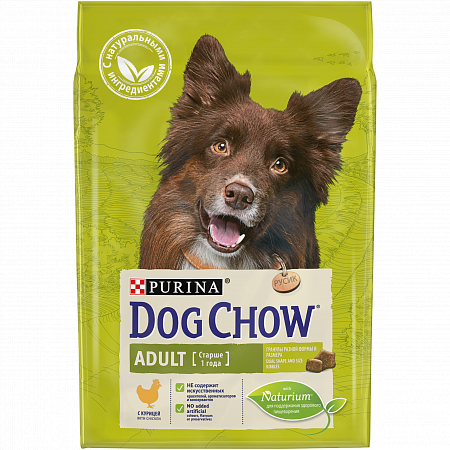 картинка DOG CHOW Adult Chicken от магазина